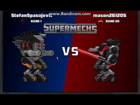 Super Mechs#9 Fast Fights 1v1 In Global Chat