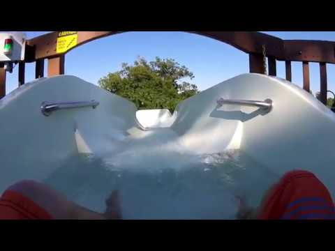 All Tube/Raft WaterSlides At Water Country USA With POVs
