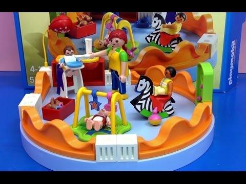 playmobil-city-life-kindergarten- -spielgruppe-demo-&-review- -deutsch