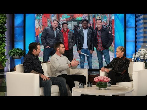 Cousins John Colaneri and Anthony Carrino on Ellen