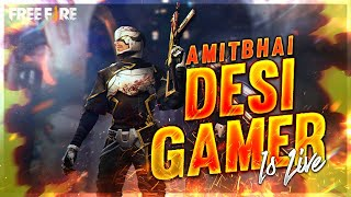 🔥 Free Fire Live 🔥Heroic Rush Gameplay - Desi Gamers 🔥 Live On