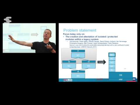 Recent Advances in System Software Security - Frank Piessens