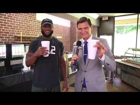 Steelers TE Xavier Grimble Shows Off Smoothie Station At Training Camp | ESPN