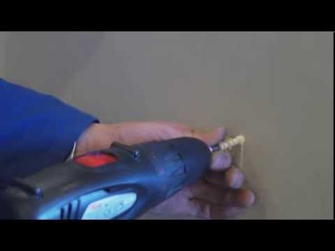 Как повесить карниз в гипсокартонный лист при помощи дюбелей pba
