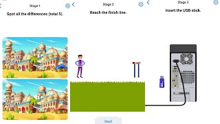 Easy Game Brain Test Daily Challenge 27 August 2020 Stage 1,2,3 Solution