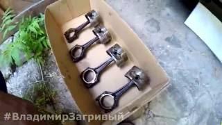 Решение проблемы масложора на Opel Zafira. Эксперимент - Доработка поршней