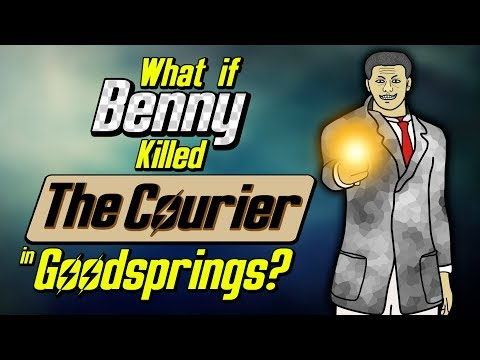 What if Benny killed The Courier in Goodsprings?