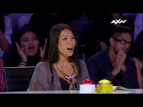 Neil Rey Garcia Llanes Judges' Audition Epi 5 Highlights  Asia's Got Talent 2017