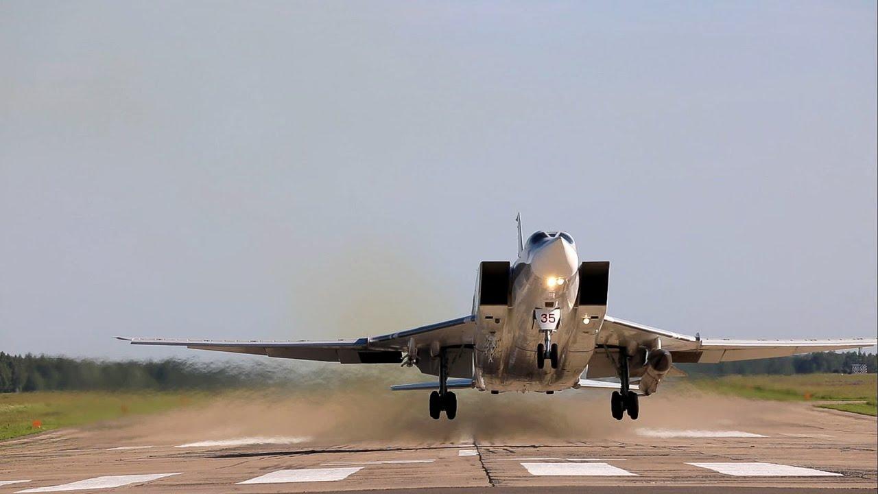 Летно-тактическое учение экипажей Ту-22М3 в Калужской области - YouTube