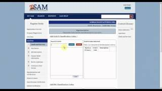 SAM Registering New Entities in SAM for Government Contracts