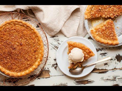 Oatmeal Pie {Mock Pecan Pie}