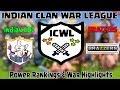 ICWL Power Rankings & War Recap of INDIAN COC vs BRAZZERS (Hindi)