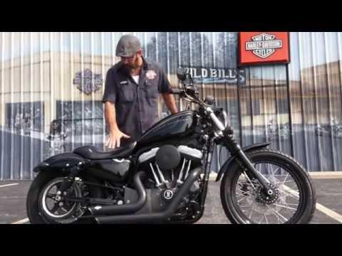 2008  Harley-Davidson Nightster with Vance & Hines Short Shots!