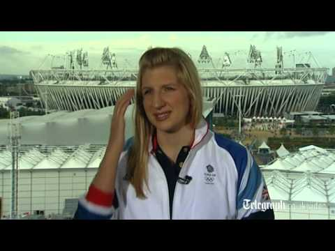 London 2012: Rebecca Adlington: gold medal 'wasn't meant to be'