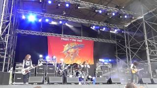 Tygers Of Pan Tang - She, Paris By Air, Euthanasia (Väsby Rock Festival, Sweden July 18 2015)