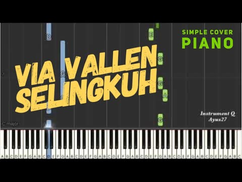 Selingkuh - via Vallen ( simple piano ) simple not