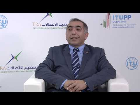 ITU INTERVIEWS @ PP-18: Bakhtiyar Mammadov, Ministry of Transport, Comms. & High Tech., Azerbaijan