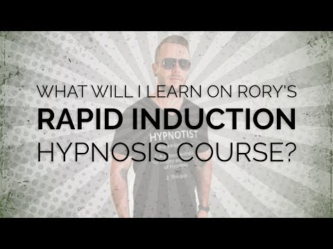 Rapid Induction, Instant Hypnosis, Stage & Street Hypnotism