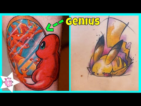 The Best Pokemon Tattoos For Fans Who Want To Catch Them All