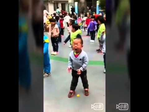 Singing at full tilt!