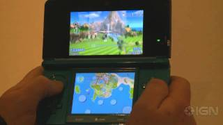 PilotWings Resort - Nintendo 3DS: Glider Gameplay