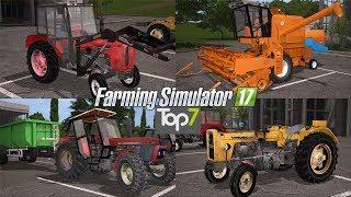 TOP7 NAJLEPSZYCH MODYFIKACJI TYGODNIA Farming Simulator 17 | NetNar
