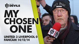 RAY: My Chosen One | Manchester United 3 Liverpool 0 | FANCAM