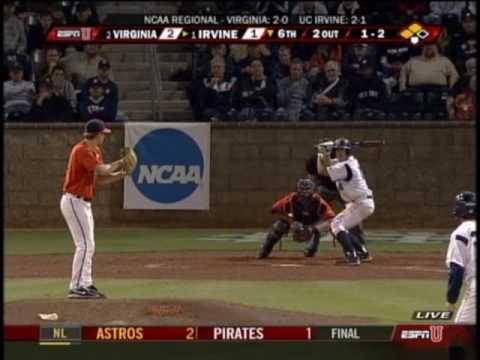 Virginia vs. UC-Irvine, 2009 NCAA tournament - second game (baseball)