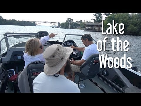 22. Tour Of Kenora Lake Of The Woods Ontario Canada By Boat The Boat Life Daily Vlog