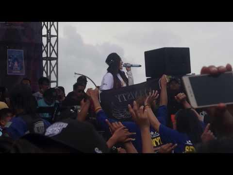 LIVE Via Vallen ~Bojo Galak~ 15 OKTOBER 2017 Anniversary rx king (YYKC)