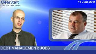 Debt management: jobs