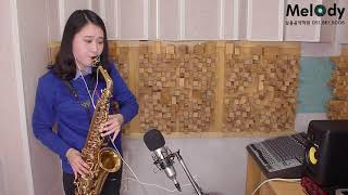 꽃물 - 색소폰연주 (Flower scent saxophone cover)