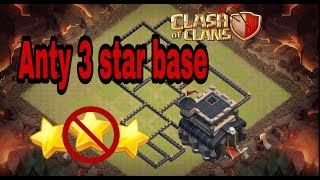 Th9 Monster bases(Anty 3star 2018)||clash of clans|| inhindi