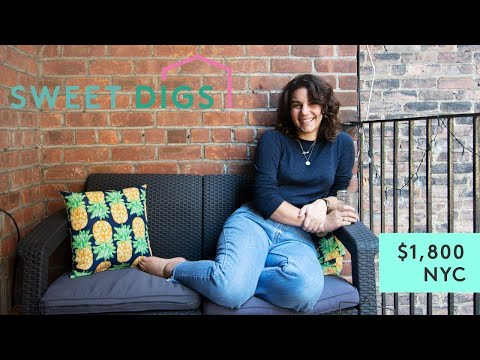What $1,800 Will Get You In NYC | Sweet Digs Home Tour | Refinery29