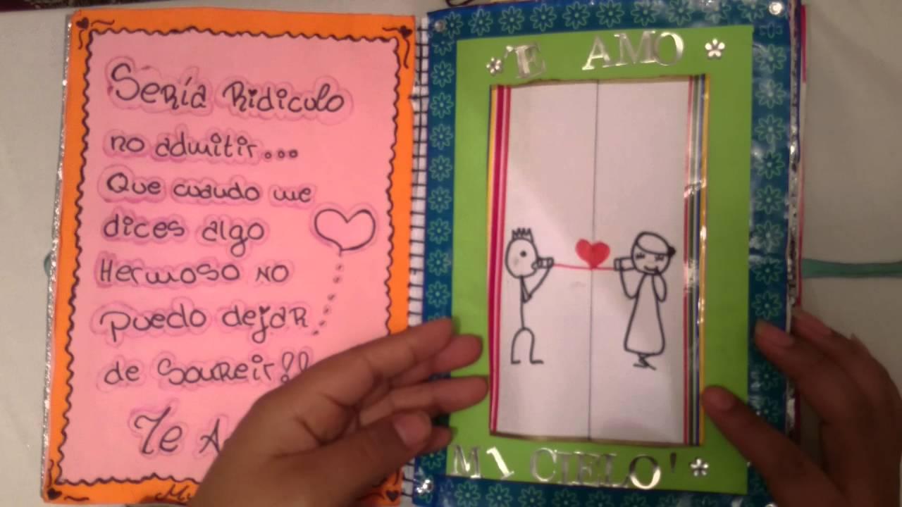 Como hacer un cuaderno de amor para mi novio [PUNIQRANDLINE-(au-dating-names.txt) 69