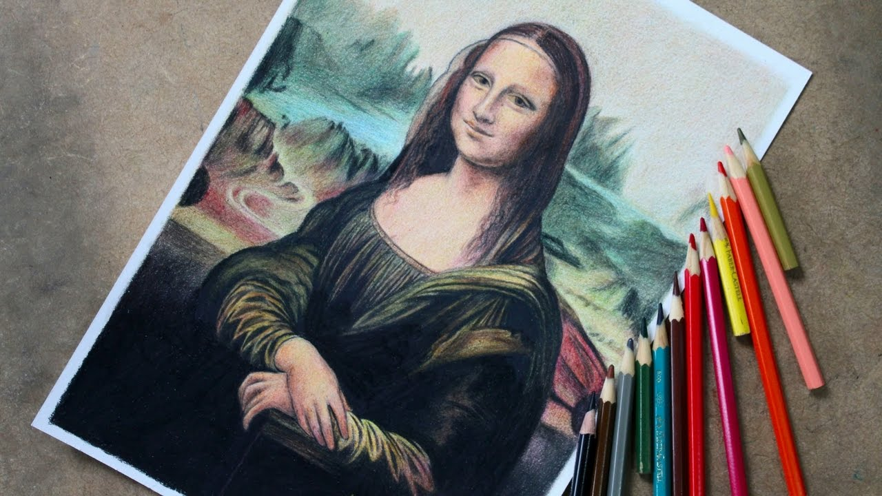 Desenhando A Mona Lisa Video Comentado Atevaldo Novais Youtube
