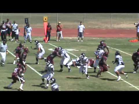 #98 Wendell Davis DT Compton College wk 1