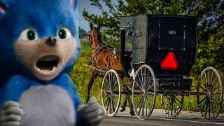 Sonic the Amish | Music parody