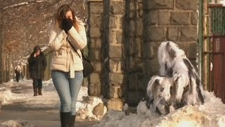 Bushman Scare Prank In The Snow Thumbnail