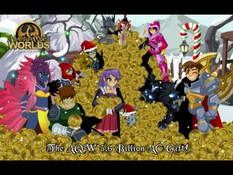 AQW Fastest Way to get AC's(Adventure Coins) in 2015 (5000+ in hours)