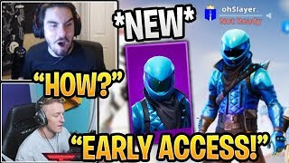 Streamers GET the 'NEW' HONOR SKIN (Early Access) Fortnite Gameplay