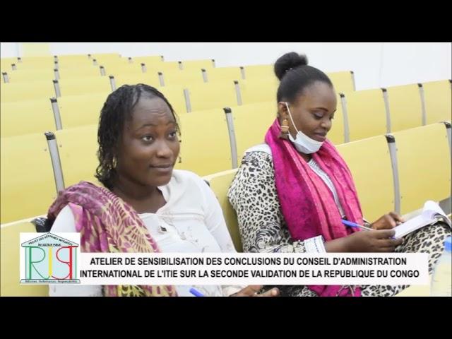 ATELIER NATIONAL DE SENSIBILISATION SUR LES CONCLUSIONS ITIE