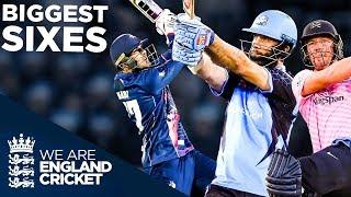 Ali, Nabi, De Villiers HUGE SIXES! 🚨 | Biggest And Best - Vitality Blast 2019 | England Cricket 2019