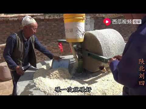 陕北刘四:老大爷用石碾子去玉米皮,刘四干了什么,为何说不想和刘四往来?