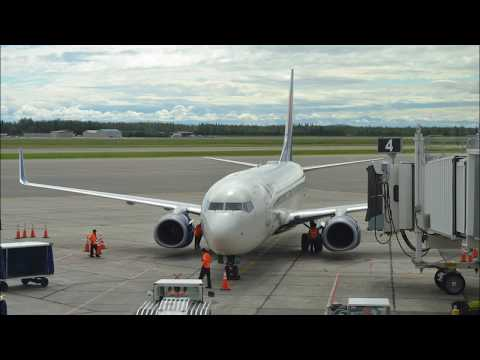 Delta Airlines DL2381 Fairbanks FAI  Seattle SEA