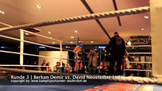 Gambar cover KCW | Berkan Demir vs. David Neustedter | 02.02.2013 History Fight Night Wadersloh