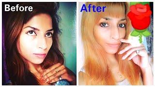 How to bleach hair at home   Golden Hair Colour At Home   Stayprettysangita