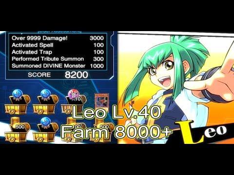 5DS Leo Lv 40 Farm 8000+ [Yu-Gi-Oh! Duel Links]