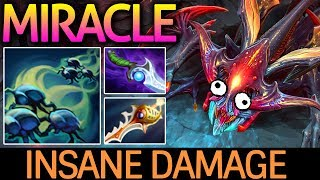 Miracle- Dota 2 [Weaver] Insane Damage | He's so Scary Subscribe : ...