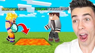 MATRUNER MÓWI TAK przez 24H CHALLENGE w Minecraft!